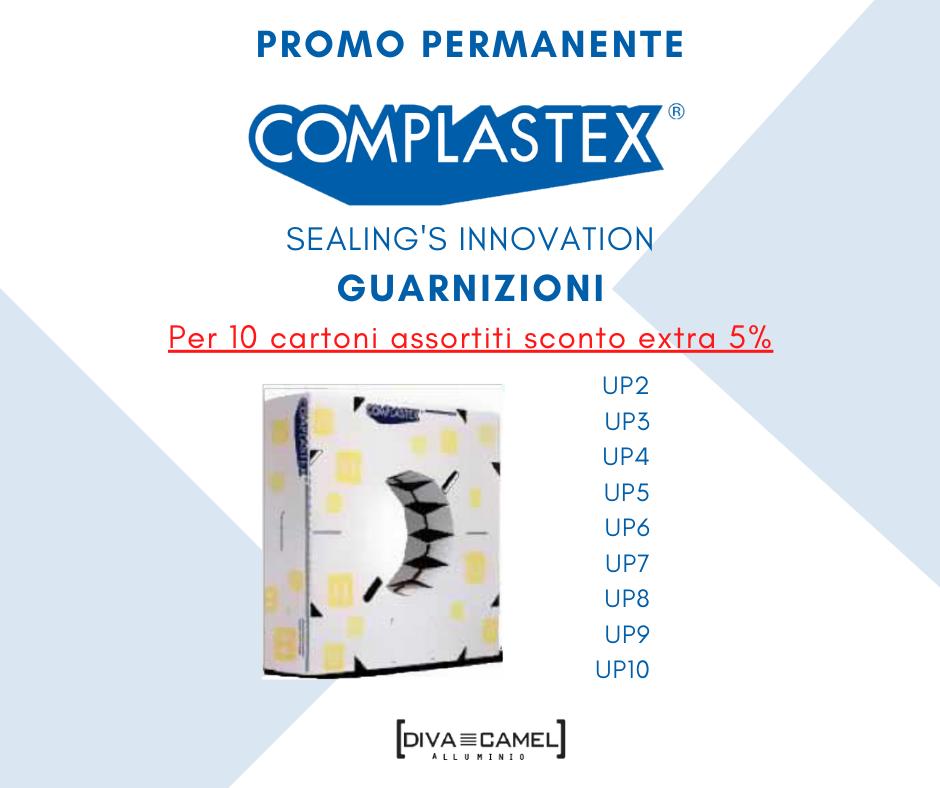 Guarnizione fermavetro COMPLASTEX